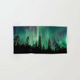 Aurora Borealis (Heavenly Northern Lights) Hand & Bath Towel