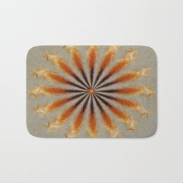 Feather Mandala Bath Mat