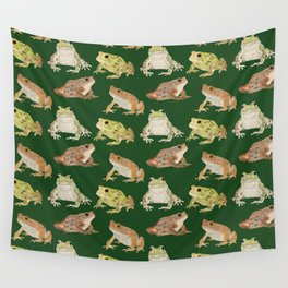 Toads Wall Tapestry