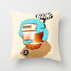 BOOM? Throw Pillow