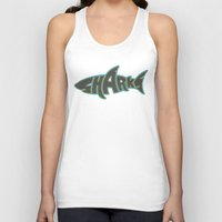 lakers Tank Tops featuring LA Sharks Alt 3 by Nicko-Suave