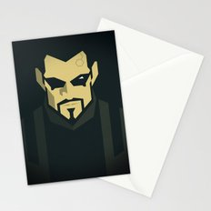 Jensen / Deus Ex: Human Revolution Stationery Cards