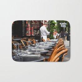 Parisian Cafe Bath Mat