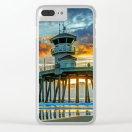 Zero After the Storm Clear iPhone Case