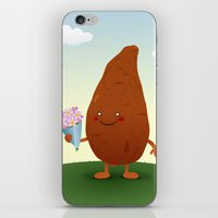 potato iPhone & iPod Skins featuring Sweet Potato by Rob Barrett — Nice Hot Cuppa