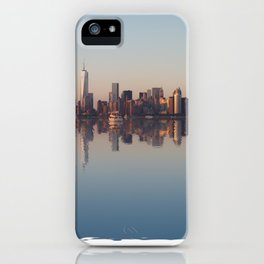 New York nightfall iPhone Case