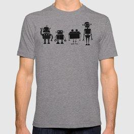 Four Robots T-shirt