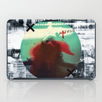 cross iPad Cases featuring Cross by oppositevision