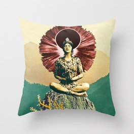 Third Jhana Throw Pillow