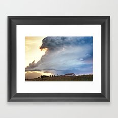 Shadow of Uncertainty Framed Art Print