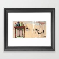 Don't Rain Framed Art Print