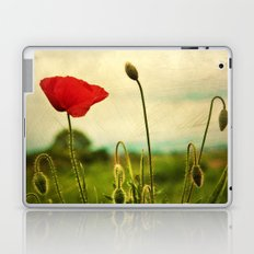 Red Poppy Laptop & iPad Skin