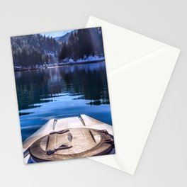 Kayaking in McCloud Northern California Stationery Cards