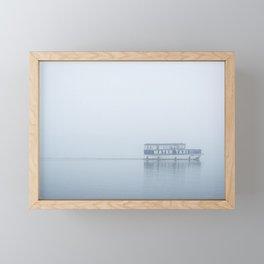 Water Taxi B&W Framed Mini Art Print