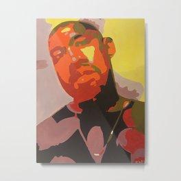 """""""Mr. West"""" Metal Print"""