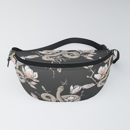 Magnolia and Serpent Fanny Pack