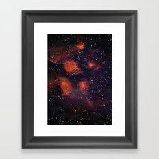 Le Cosmos Framed Art Print