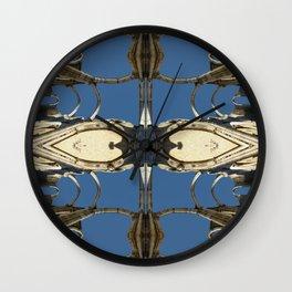 Castle fractal II Wall Clock