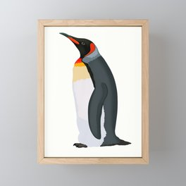 King Penguin Framed Mini Art Print
