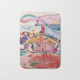 View of Collioure - Henri Matisse - Exhibition Poster Bath Mat