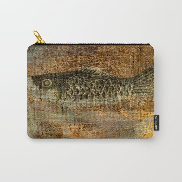 鯉 幟 (The Koinobori) Carry-All Pouch
