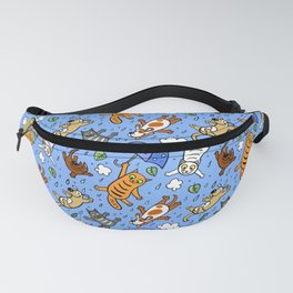 Cat Pattern | It is raining cats and dogs Fanny Pack