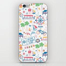 Newport Harbor Doodles iPhone Skin