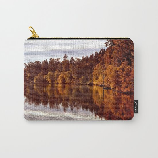 RADIANT AUTUMNAL REFLECTION Carry-All Pouch
