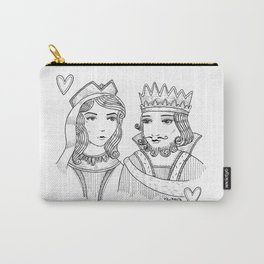 What's a king without his queen? Carry-All Pouch