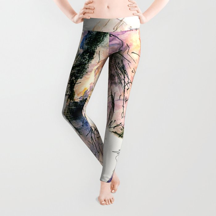 elephant queen - the whole truth Leggings