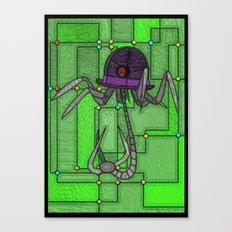 Mechanical hat Canvas Print