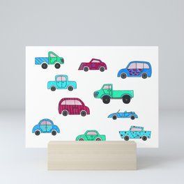 Cars II Mini Art Print