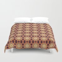 mandela Duvet Covers featuring spring reflection by LEEMARIE