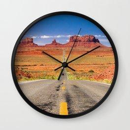 Roadtrip Utah Wall Clock