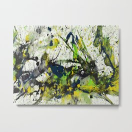 Abstract EXPressionism Series 1253D.111612-A Metal Print