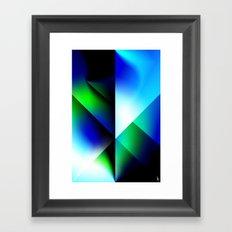 Astro Shield Framed Art Print