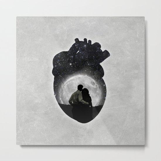 You Are in My Heart Metal Print