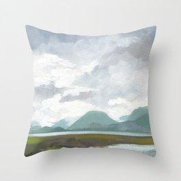 SITKA SOUND 02, by Frank-Joseph Throw Pillow