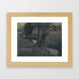 Landscape by Heinrich Kuhn Framed Art Print