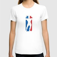 nba T-shirts featuring NBA by Free Specie