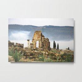 Meknes, Morocco Ancient Architecture Metal Print