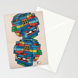 Blue Ghoul Stationery Cards