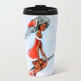 Mrs claus Travel Mug