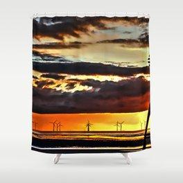 Power Plant Shower Curtain