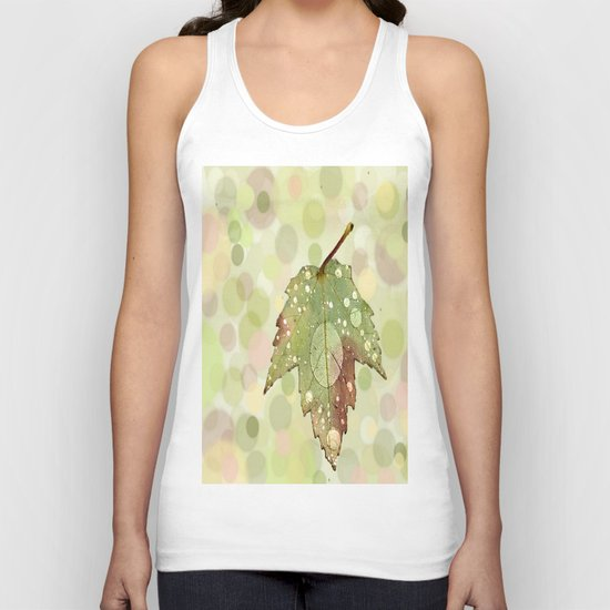 Just Leaf in Peace Unisex Tank Top