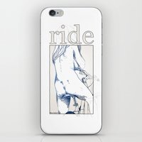 boob iPhone & iPod Skins featuring ride. by Florian Beierlein