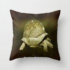 Slow Thinker 011 Throw Pillow