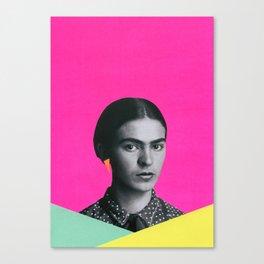Modern Frida Canvas Print