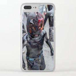 Luchadorcito Clear iPhone Case