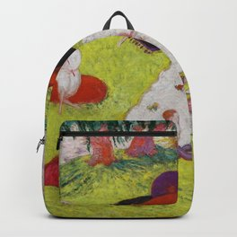 "Florine Stettheimer ""Picnic at Bedford Hills"" Backpack"